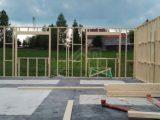 stavba obvodových stien