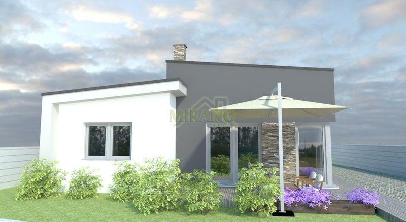 dom s pultovou strechou