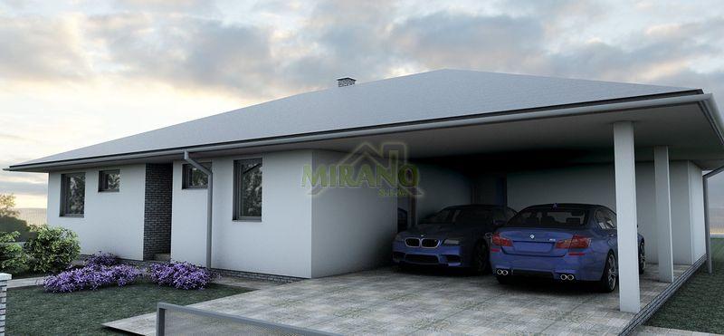 dom s parkovaním pre 2 autá